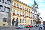 Prachatice, Městské divadlo, radnice. Ilustrační foto
