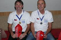 Václav Šána a Josef Veselý se stali futsalovými Mistry Evropy nad 50 let.