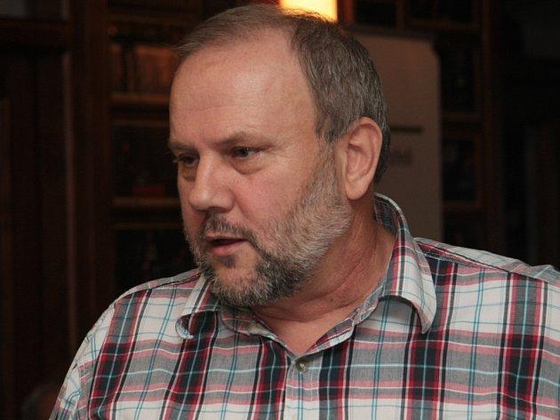 Předseda Svazu obcí NP Šumava a starosta obce Modrava Antonín Schubert.