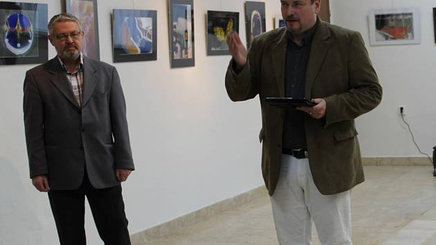 Vít Vavřinec Pavlík uvedl výstavu fotografií Zdeňka Přibyla.