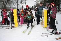 Sportovní hry, které připravili na sobotu 31. ledna v areálu na Libínském Sedle, nabídly dětem i závody na lyžích od těch nejmenších, až po ty zkušenější lyžaře. A komu se zrovna nechtělo závodit, mohl si zadovádět třeba na nafukovací matraci.