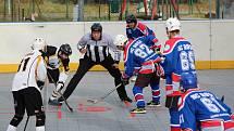Hokejbalová II. liga jih: HBC Prachatice B - HBC Rosa ČB 5:2.