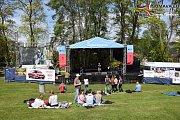 Vimperský Majáles bavil diváky celé sobotní odpoledne.