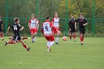 Fotbalová A třída: Prachatice B - Trhové Sviny 0:4.