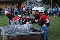 Ve Vlachově Březí se konala noční soutěž Prachatické hasičské ligy.