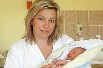 Ondřej Předota se v prachatické porodnici narodil v pátek 11. července v 9.23 hodin. Vážil 3310 gramů. Rodiče Věra a Petr jsou z Chluman.