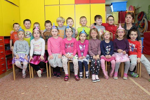 Představujeme děti ze 3.třídy MŠ ve Zdíkově.
