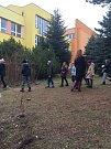 Zahradní slavnost v montessori při ZŠ Národní v Prachaticích.