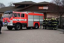 Jednotka hasičů ve Vacově.