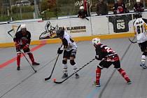 Highlanders Prachatice porazili v první lize Snack Dobřany 3:1.