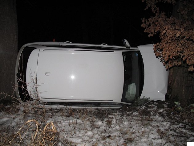 Dopravní nehoda uMalovic na Prachaticku.