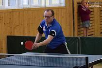Stolní tenisté na Prachaticku sehráli další kolo zápasů.