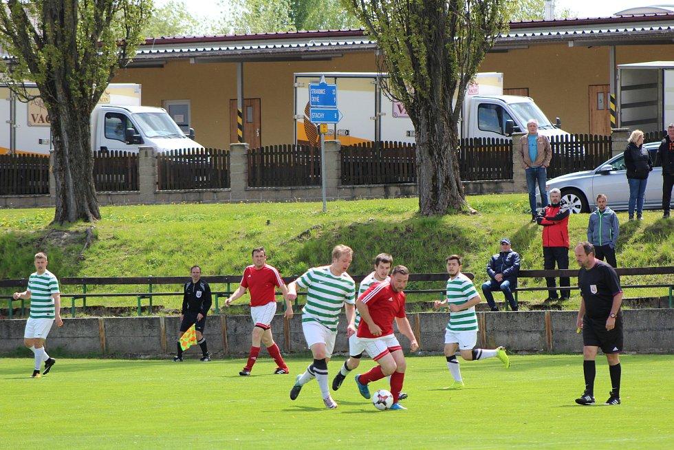 O víkendu se hraje řada zajímavých fotbalových zápasů v kaji i okrese