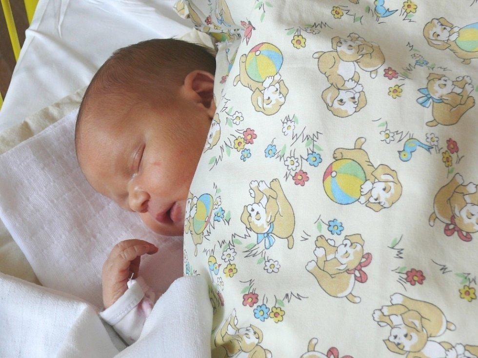 Martina Baronová se v prachatické porodnici narodila v úterý 7. května v 11.30 hodin. Vážila 3730 gramů. Rodiče Jaroslava a Martin jsou ze Zdíkova. Na sestřičku se těšili sourozenci, Milda (21 let), Tomáš (18 let) a Verča (14 let).