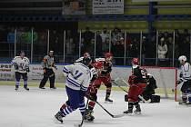 Vimperští hokejisté podlehli v dohrávce Pelhřimovu 2:5.