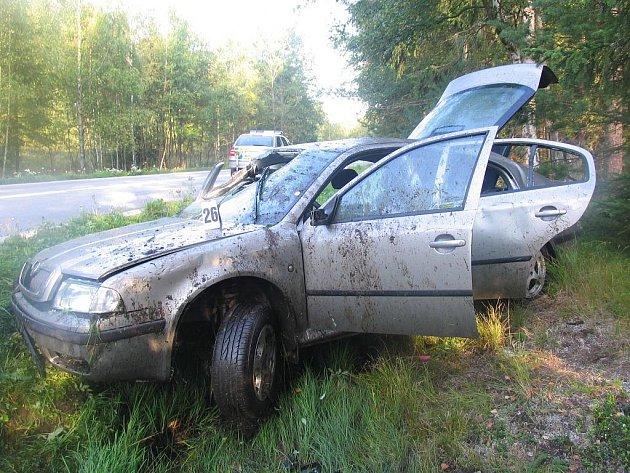 Nedělní nehoda u Lenory měla tragické následky.