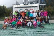Neděli strávily děti prohlídkou zámků Neuschwanstein a Linderhof.