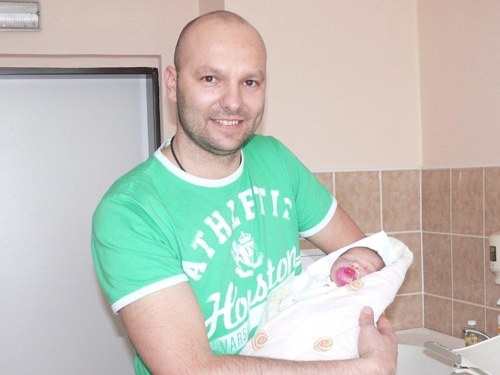 Natálie Hovorková se narodila v prachatické porodnici v pondělí 4. února v 07.20 hodin rodičů Lucii a Jiřímu. Vážila 3010 gramů a měřila 48 centimetrů. Malá Natálie bude vyrůstat v Němčicích.