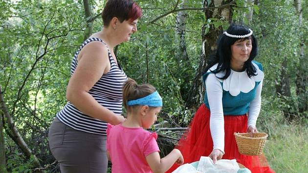 Pohádkobraní ve Svaté Maří je pro děti i rodiče krásným zážitkem.