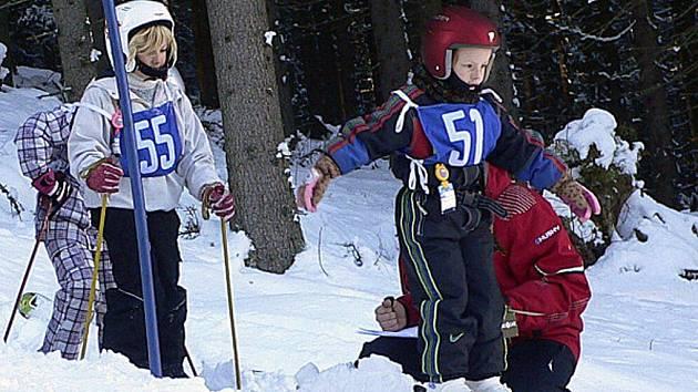 Slalom o Bázumský pohár.