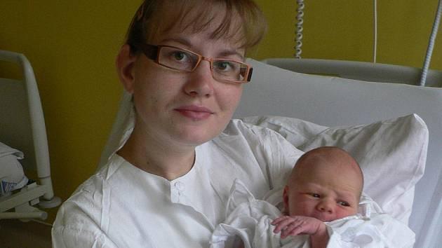 Jakub Blažek z Budilova se narodil ve strakonické porodnici 21. listopadu v 06.24 hodin. Vážil 3000 gramů