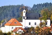 Kostel v Bohumilicích.
