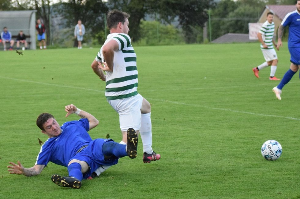 Fotbalová I.B třída: Vacov - Husinec 3:2.