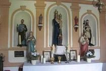 Kaple v Malovicích.