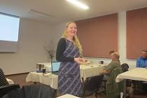 Lucie Rambousková ve Volarech vyprávěla o USA i Šumavě.