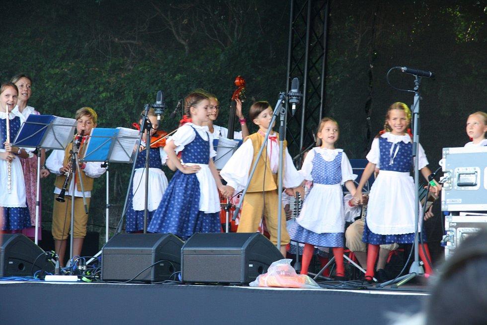 Slavnosti Zlaté stezky v Prachaticích.