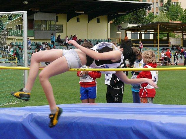 Mladší žáci absolvovali v Prachaticích atletický Pohár rozhlasu.