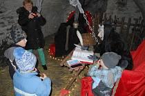 Vimperské peklo loni přilákalo na osm stovek návštěvníků.