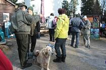 K tradicím v Prachaticích patří výstup na Libín prvního ledna. Ani letošní Nový rok nebyl výjimkou.