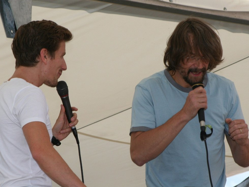 V Husinci se představili Dan Bárta a Endru.