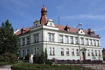 Bývalá lesnická škola ve Vimperku.