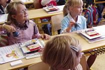 Učitelé se dětem snažili vysvětlit důvody stávky. Ilustrační foto.
