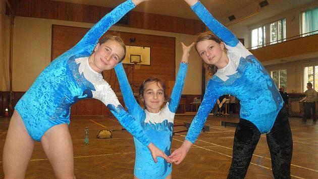 Vimperské gymnastky.