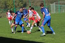 Fotbalová A třída: Prachatice B - Planá u ČB 1:0.