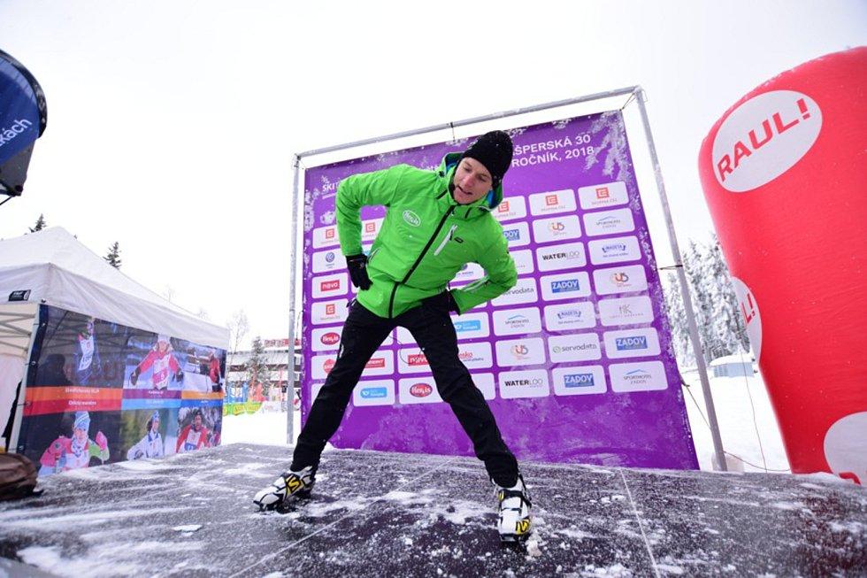 Kašperské 30 se zúčastnilo přes šest stovek závodníků.