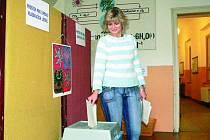VOLBY. Babičtí se v sobotu vydali k volebním urnám. Hlasovali o představiteli obce. Ilustrační foto.