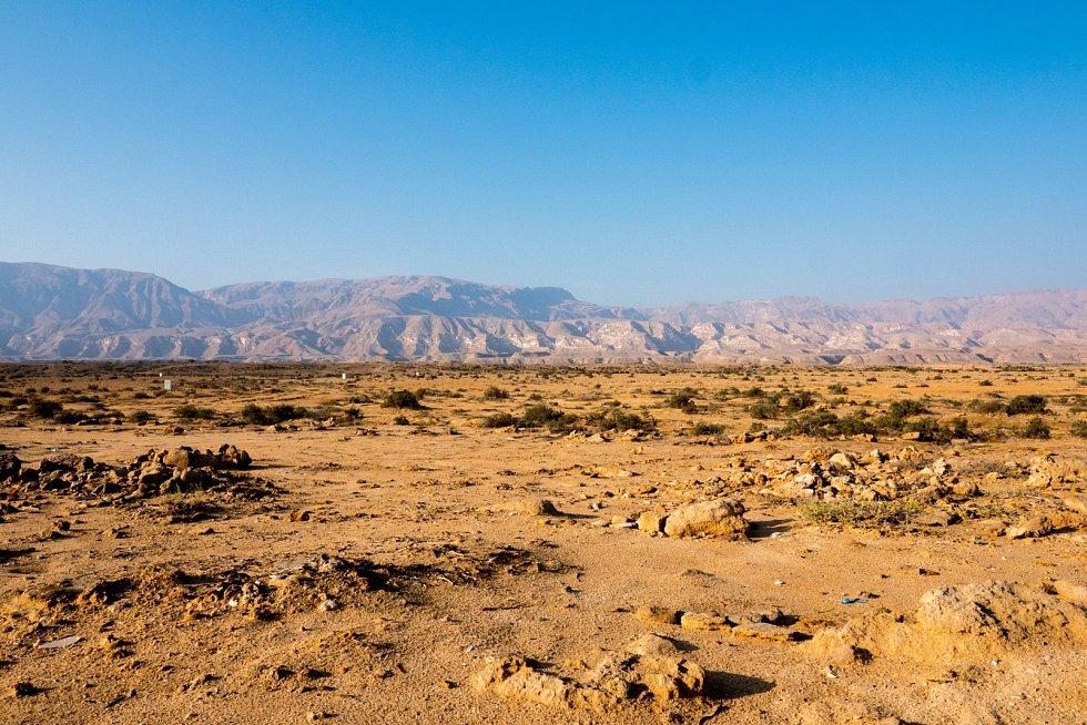 Ománská skaliska.