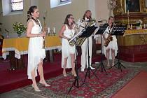 Koncert, který připravila volarská ZUŠka, přispěl beneficí na opravu kostela sv. Kateřiny.