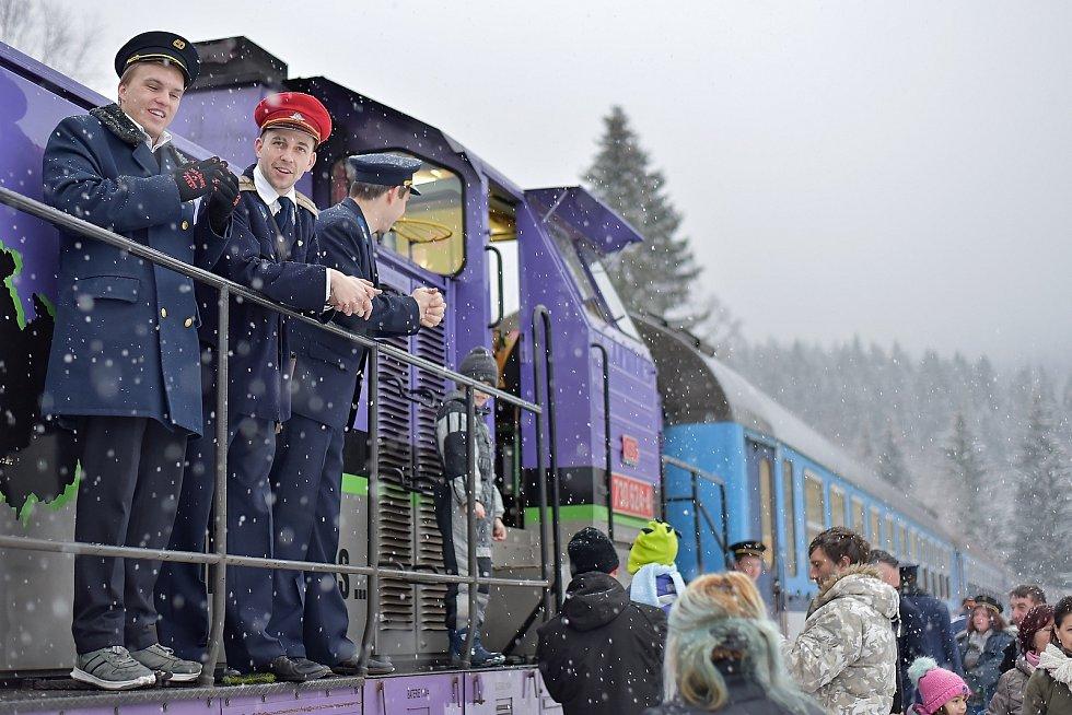 Silvestrovský vlak 2018.