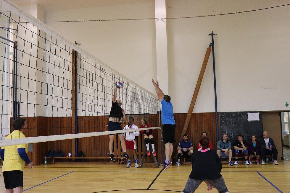 V tělocvičně ZŠ Volary proběhl turnaj O Pohár místostarostky.