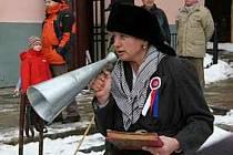 V době, kdy byl svět ještě normální, byla Jitka Soukupová i organizátorkou setkání lyžníků na prachatickém náměstí.