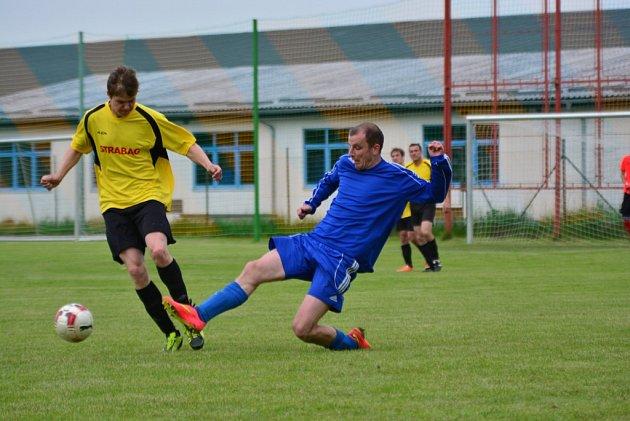 Fotbalová I.B třída ve Čkyni.