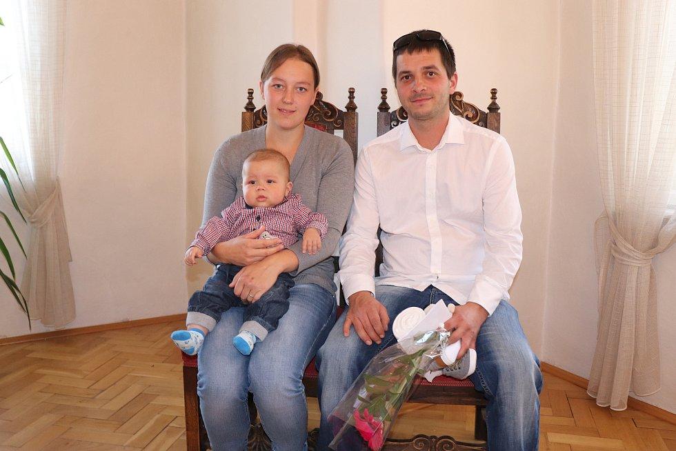 Zbyněk Tureček s rodinou.