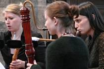 První a zahajovací koncert měl v režii soubor zobcových fléten Senza Barriera.