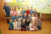 1. třída ze Základní školy ve Vacově.