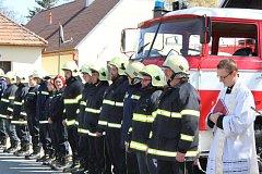 Strunkovičtí dobrovolní hasiči mají novou zásahovou tatru.